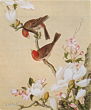 Всем доброго времени суток! Закончила я своих птиц и спешу поделиться с вами :))) фото 7