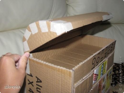 Как сделать шкатулки своими руками из картона