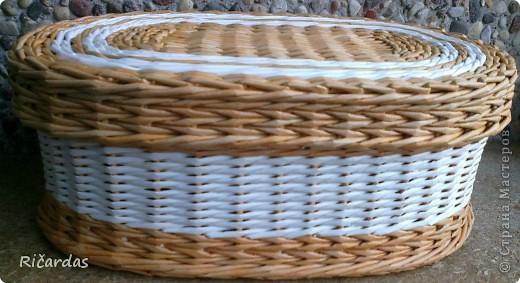 Мастер-класс Поделка изделие Плетение Послойное плетение Бумага газетная фото 39