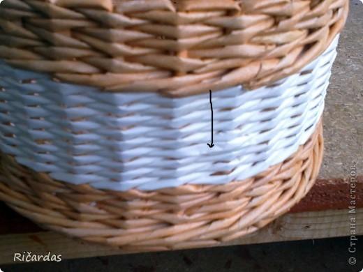 Мастер-класс Поделка изделие Плетение Послойное плетение Бумага газетная фото 41