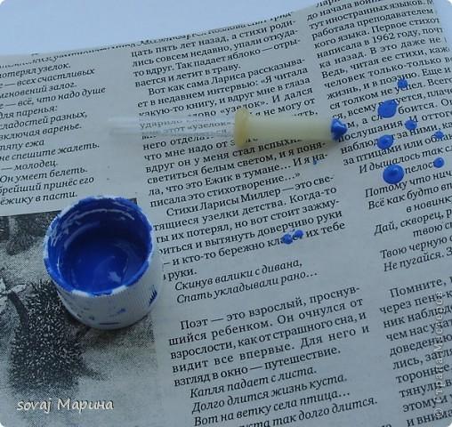 Мастер-класс Роспись Мк роспись чайной пары Незабудки Краска фото 4