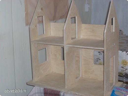 Детский домик своими руками из двп