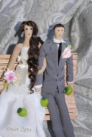 В первом мастер-классе я показала как я сшила эту чудесную невесту, в этом же расскажу как сшить жениха. Сразу скажу, что этот мк не такой подробный как первый, т.к. многие моменты повторяются. фото 1