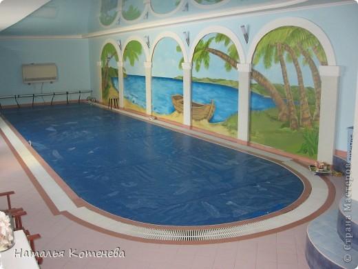 рисунок бассейна: