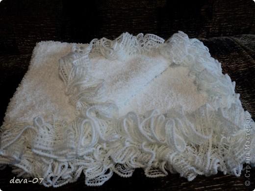 Вязание - плед для малыша.