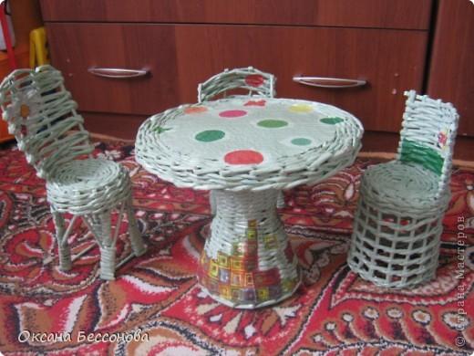 мебель для кукол Бумага