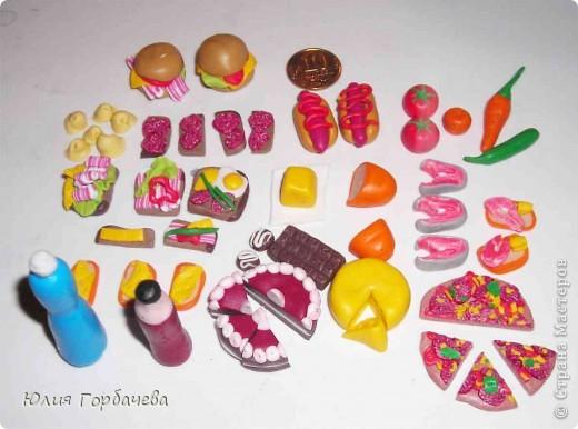 Как сделать из пластилина куклам еду