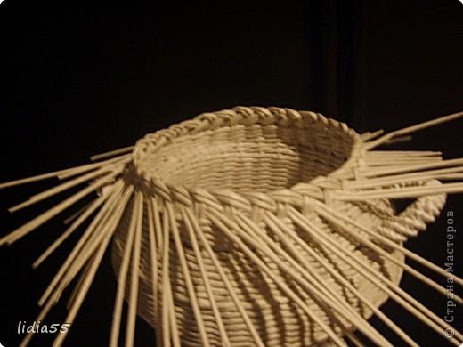 Мастер-класс Поделка изделие Начало учебного года Плетение кашпо или ваза Бумага газетная Трубочки бумажные фото 33