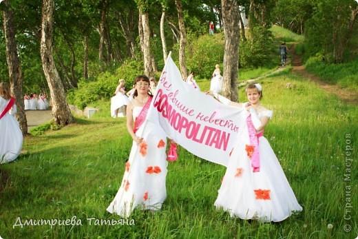 """Здравствуйте всем моим гостям! Расскажу об этом мероприятии. Журнал """"Cosmopolitаn"""" проводит акцию """"Сбежавшие невесты"""" ежегодно во многих городах России, в частности в нашем Петропавловске-Камчатском второй год. Я участвовала впервые в этом году. фото 11"""