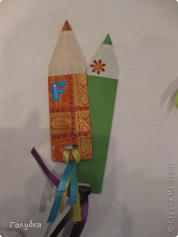 Я красивая закладка:) Я нужна вам для порядка... Всем привет!!! Сегодня пятница и наши встречи с ребятами  возобновились:) До Нового года мы решили  заниматься оригами и придумали проект. Какой? Об этом в следующую пятницу мы расскажем  подробно;) А пока разминка. Нужная и полезная вещь-закладка. Спасибо за подробности Анне annalita.  фото 7