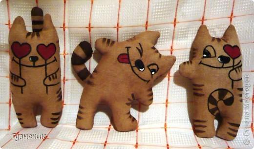 Игрушка котик своими руками