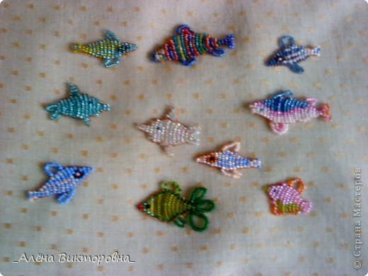 Бисероплетение рыбки схема