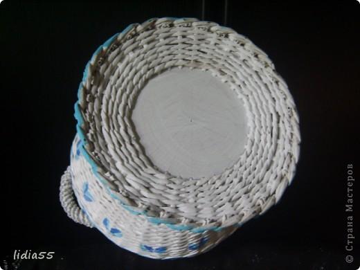 Мастер-класс Поделка изделие Начало учебного года Плетение кашпо или ваза Бумага газетная Трубочки бумажные фото 38