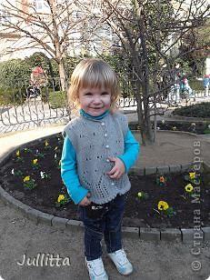 Шапочка дочке (осень-весна) фото 6
