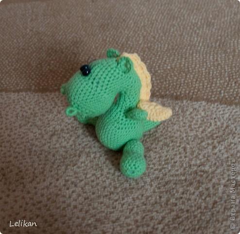 Дракончик маленький зеленый фото 2