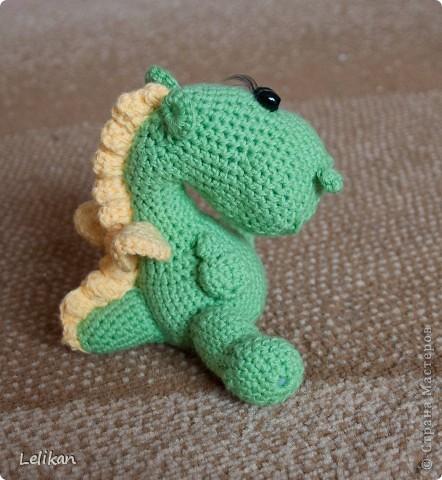 Дракончик маленький зеленый фото 1