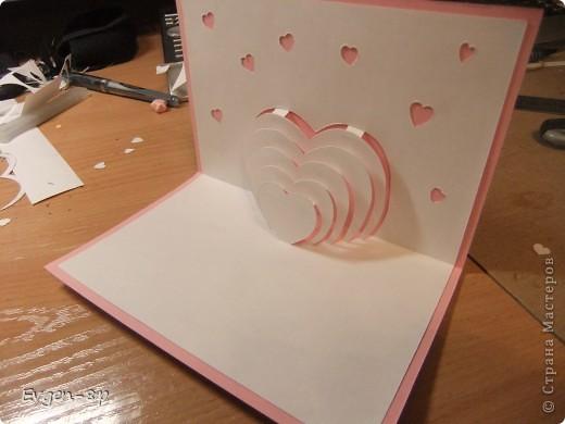 Как сделать объемную открытку для мамы