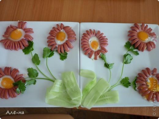 Кулинария Мастер-класс 8 марта День рождения Рецепт кулинарный Яичница - ромашка  Продукты пищевые фото 2