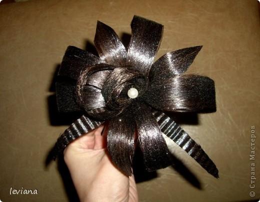 Заколка для волос своими руками мастер класс видео