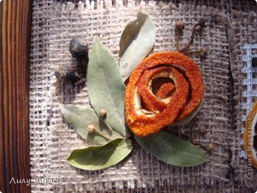 Картина панно рисунок Аппликация Панно для кухни Ароматное Канва Картон Материал природный Продукты пищевые Семена фото 2