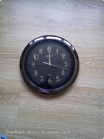 Теперь мою комнату украшают вот такие часы. фото 2