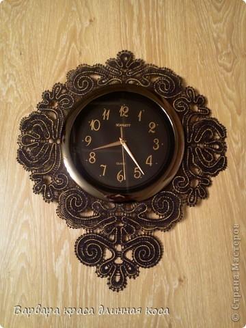 Теперь мою комнату украшают вот такие часы. фото 4
