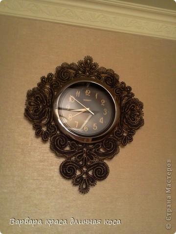 Теперь мою комнату украшают вот такие часы. фото 1