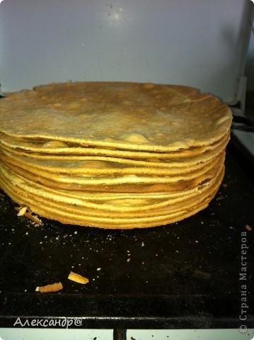 Кулинария Мастер-класс Вкусный Большой и Сытный Тортик фото 14