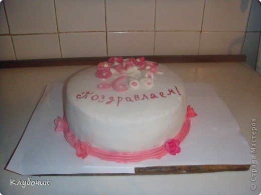 Домашний торт с мастикой в домашних условиях мастер класс