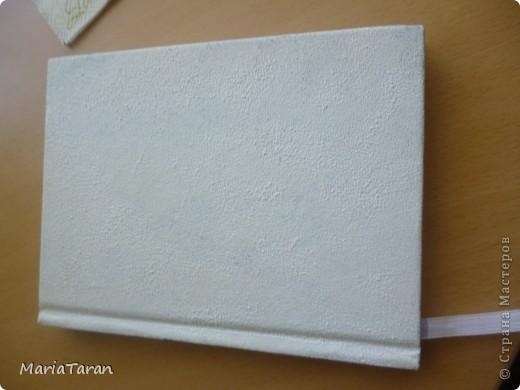 Декор предметов Мастер-класс Декупаж Переделываем блокнот мк Клей Краска Салфетки фото 12
