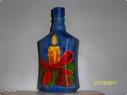 Новогодние бутылочки фото 1