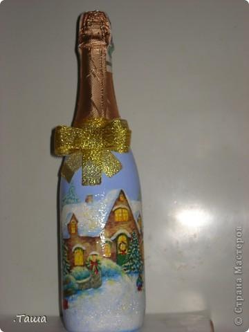 Новогодние бутылочки фото 9
