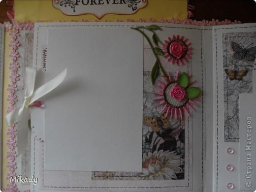 Это мой последний проект. Таких альбомчиков я сделала два, но один уже забрали он в сиреневом цвете был. Описание не пишу некогда фото 31