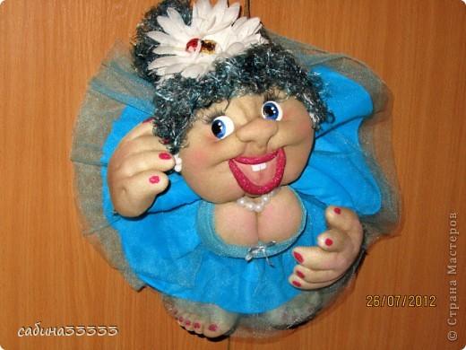 Кукла из капрона своими руками мастер класс видео