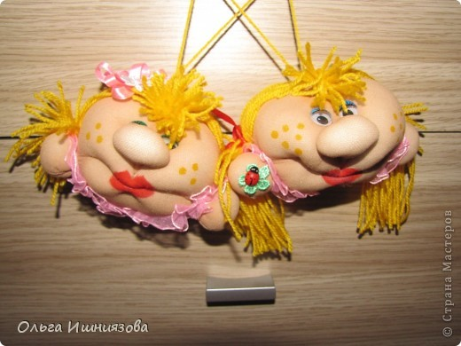 Куклы Попики-мопики СПАСИБО МАСТЕРАМ ЗА МАСТЕР-КЛАССЫ Капрон Тесьма шнур фото 3.