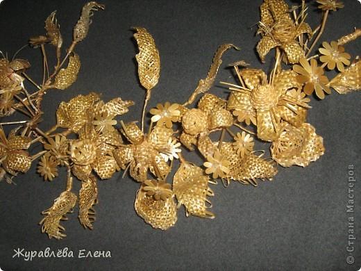Плетение Веточка Соломка