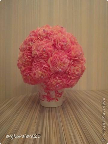 Цветы из бумаги бумага гофрированная