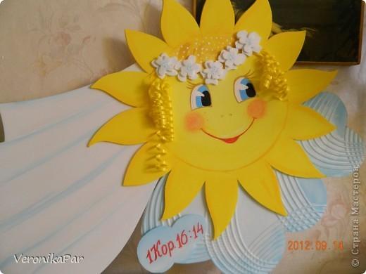 Солнышко своими руками для детского сада из бумаги 18