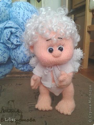 Игрушка Куклы Вязание спицами