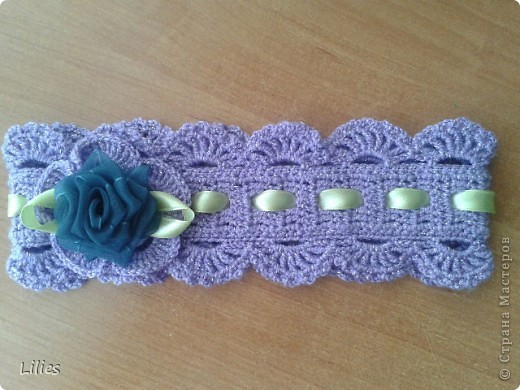 Вязание крючком - Повязки на