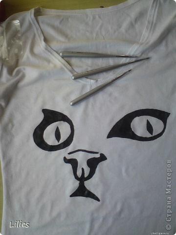 Роспись по ткани фото 2