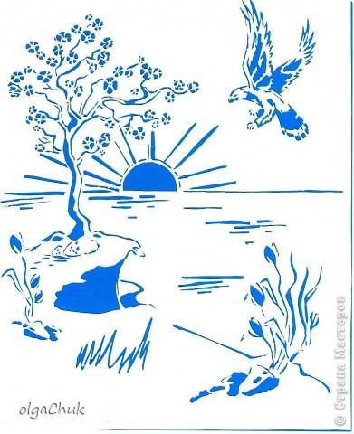 Картина панно рисунок Вырезание вытынанка Бумага.
