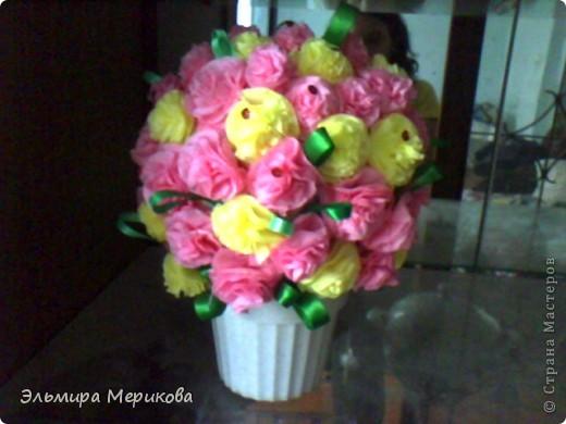 Букет цветов фото своими руками