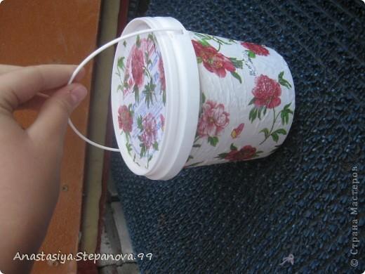 Коробочка из под мороженого,без складочек не обойтись))) фото 3