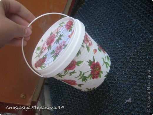 Коробочка из под мороженого,без складочек не обойтись))) фото 4