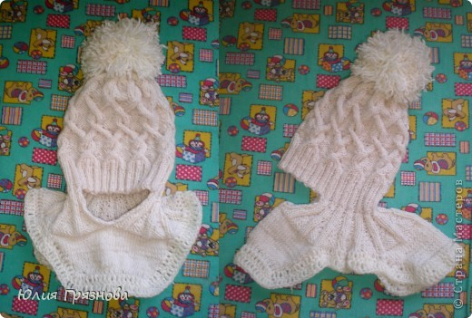 Холод не за горами, осень уже напоминает о себе и поэтому у меня связалась вот такая шапочка для доченьки любимой! фото 6