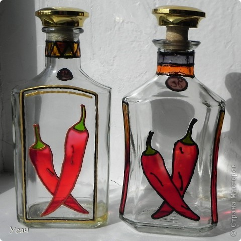 Витражи своими руками на бутылках - Vzmorie Adler