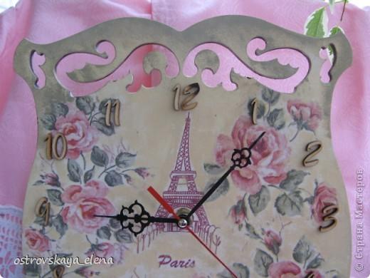 И не только розы....Часы и малюсенькая шкатулочка. фото 3