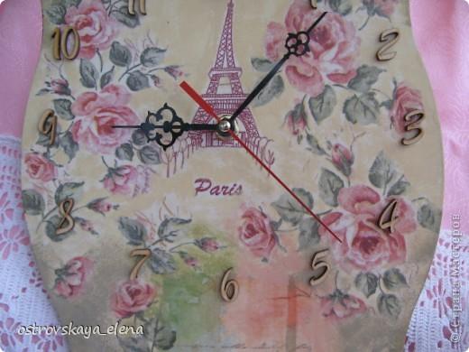 И не только розы....Часы и малюсенькая шкатулочка. фото 4