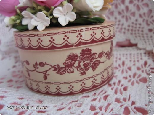 И не только розы....Часы и малюсенькая шкатулочка. фото 8